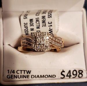Stunning Bridal/Engagement ring set